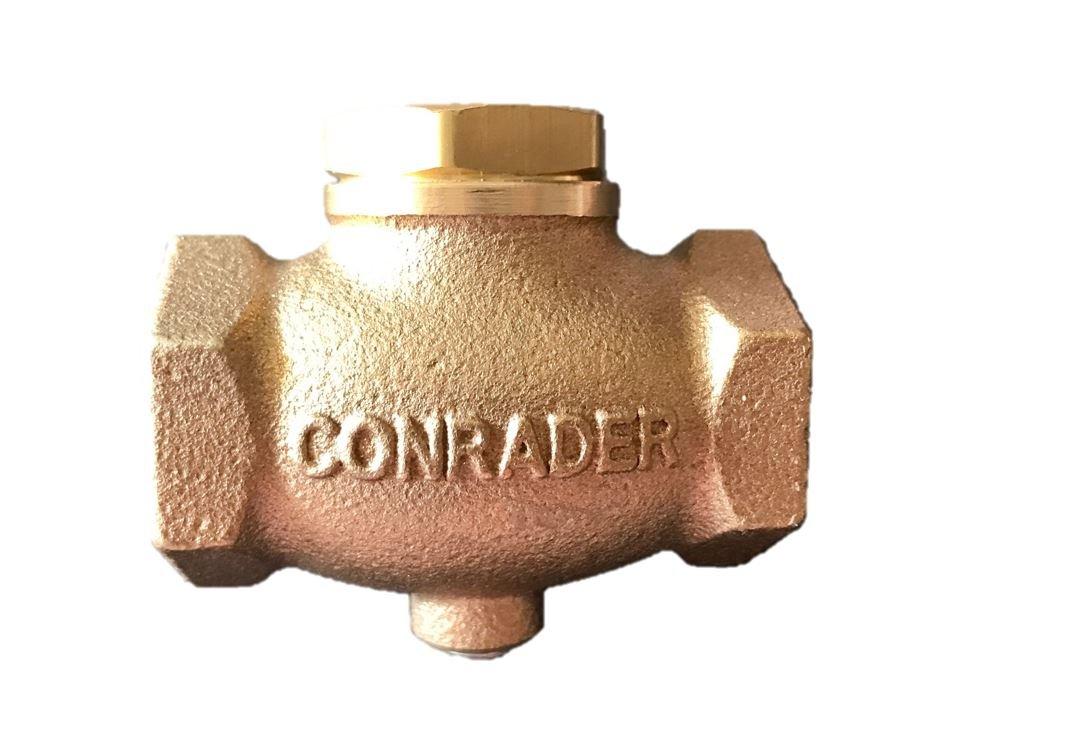 New 3/4'' Cast Brass Horizontal Check Valve Air Compressor Inline Vertical