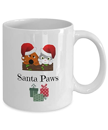 Christmas Mugs.Amazon Com Dog Christmas Mugs Cat Christmas Mug