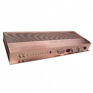 Ground Zero GZHA - Amplificador de sonido para coches (2 canales, 2800 W)