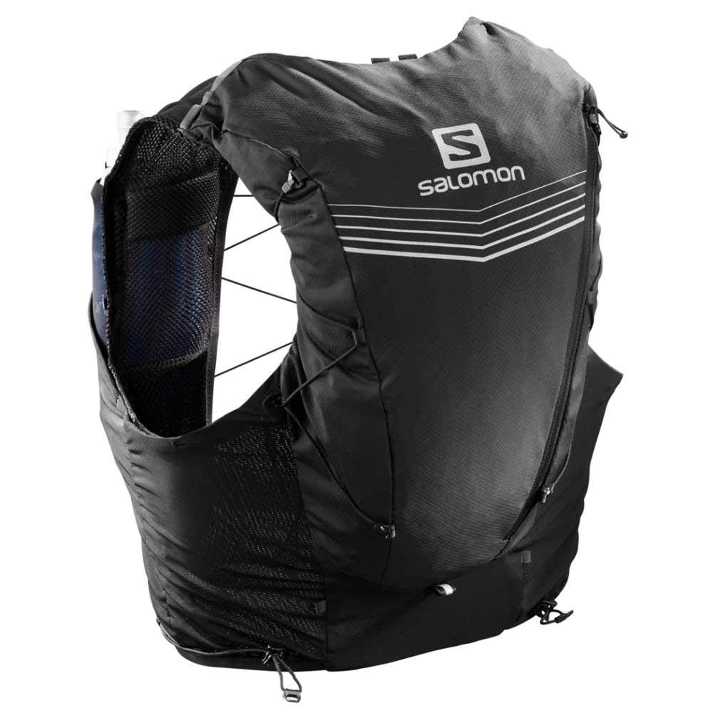 Salomon Adv Skin 12 Set Hydration Stretch Pack, Black, X-Small