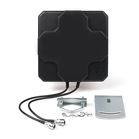 Audio & Video Accessories Areyourshop 18dBi 4G LTE Antenna Outdoor Panel Dual MIMO N Female Signal Strength Booster Car Electronics & Accessories