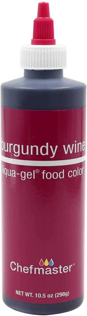 Chefmaster Liqua Gel Food Color, 10.5-Ounce, Burgundy