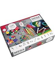 Rayher 69082000 Kit per lavoretti creativi, set bricolage, diversi materiali, Multicolore, 1200 pz.