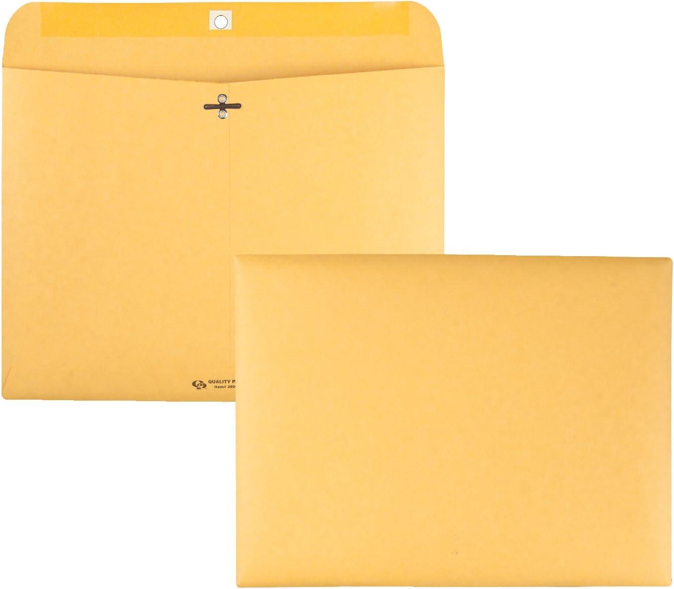 Quality Park Clasp Envelopes (QUA38090) : Quality Park Redi File Clasp Envelope : Office Products