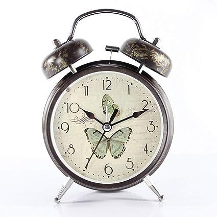 Amazon.com: DDGOD Vintage Alarm Clock,Classic Analog Alarm ...