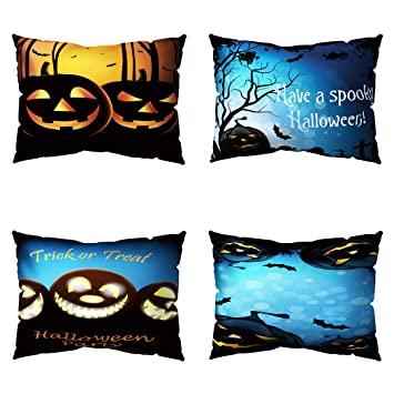 Amazon.com: Zakally Halloween Thriller almohada Halloween ...