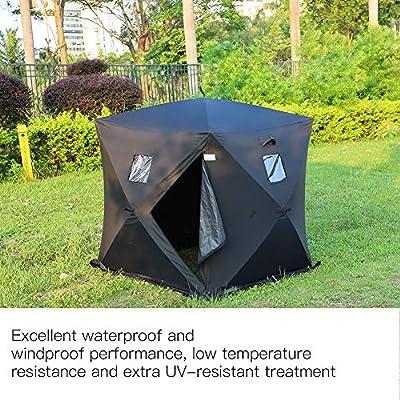 Impermeable, para acampadas, Pesca de Hielo Zerone Tienda de campa/ña port/átil para 2 Personas