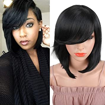 Amazon Com Yiti Short Pixie Cut Bob Synthetic Wigs For Women Heat