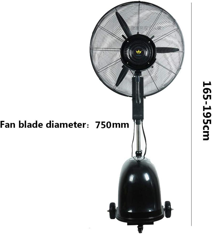 電動ファン ミストファン 台座スタンドファン立ちネブライザーファン調節可能な伸縮スタンド振動タワーファンフロア立ちクール3スピードファン
