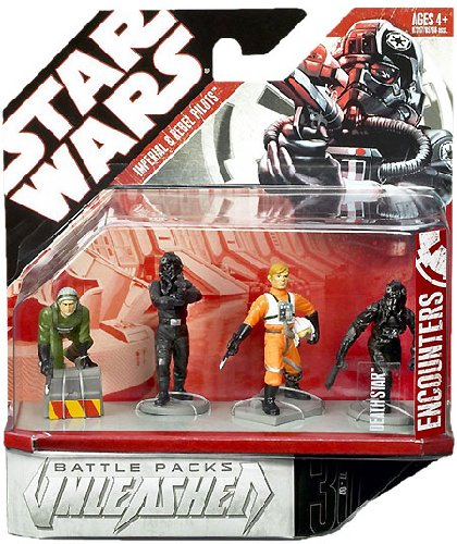 Star Wars Battle Pack Unleashed - Imperial and Rebel Pilots