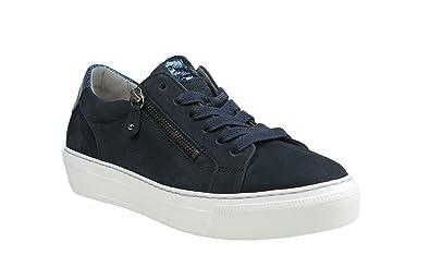 watch 5a3ed f5de4 Mesdames Sneaker 38 38.5 39 40 bleu Gabor 64.314.16 dames ...