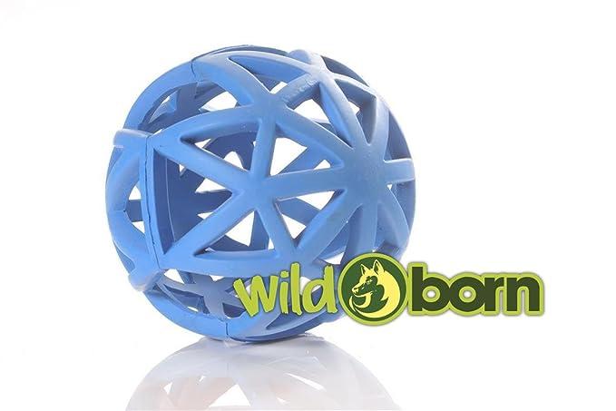 Wild Born rejilla perro | rejilla pelota de perros juguete goma ...