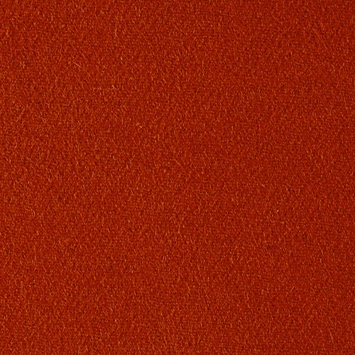 Riley Blake Designs Riley Blake Melton Wool Blend Burnt Orange Fabric by The Yard
