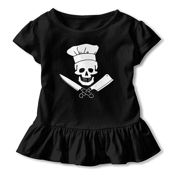 Amazon.com: Skull-Chef - Camiseta de manga corta para bebé ...