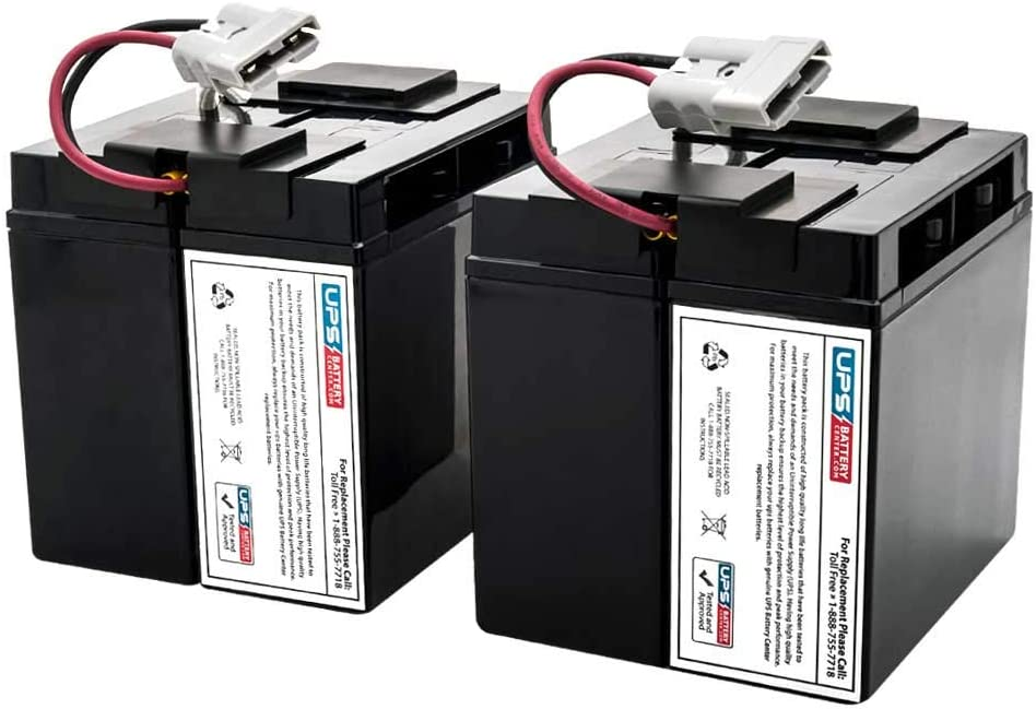 Plug /& Play UPSBatteryCenter Compatible Battery Set for APC Smart UPS XL 3000 208V SUA3000XLT