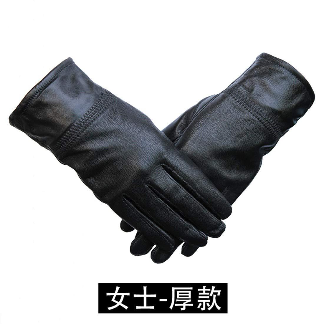 M Thick BYMHH Mens Warm Gloves Winter Plus Velvet Gloves