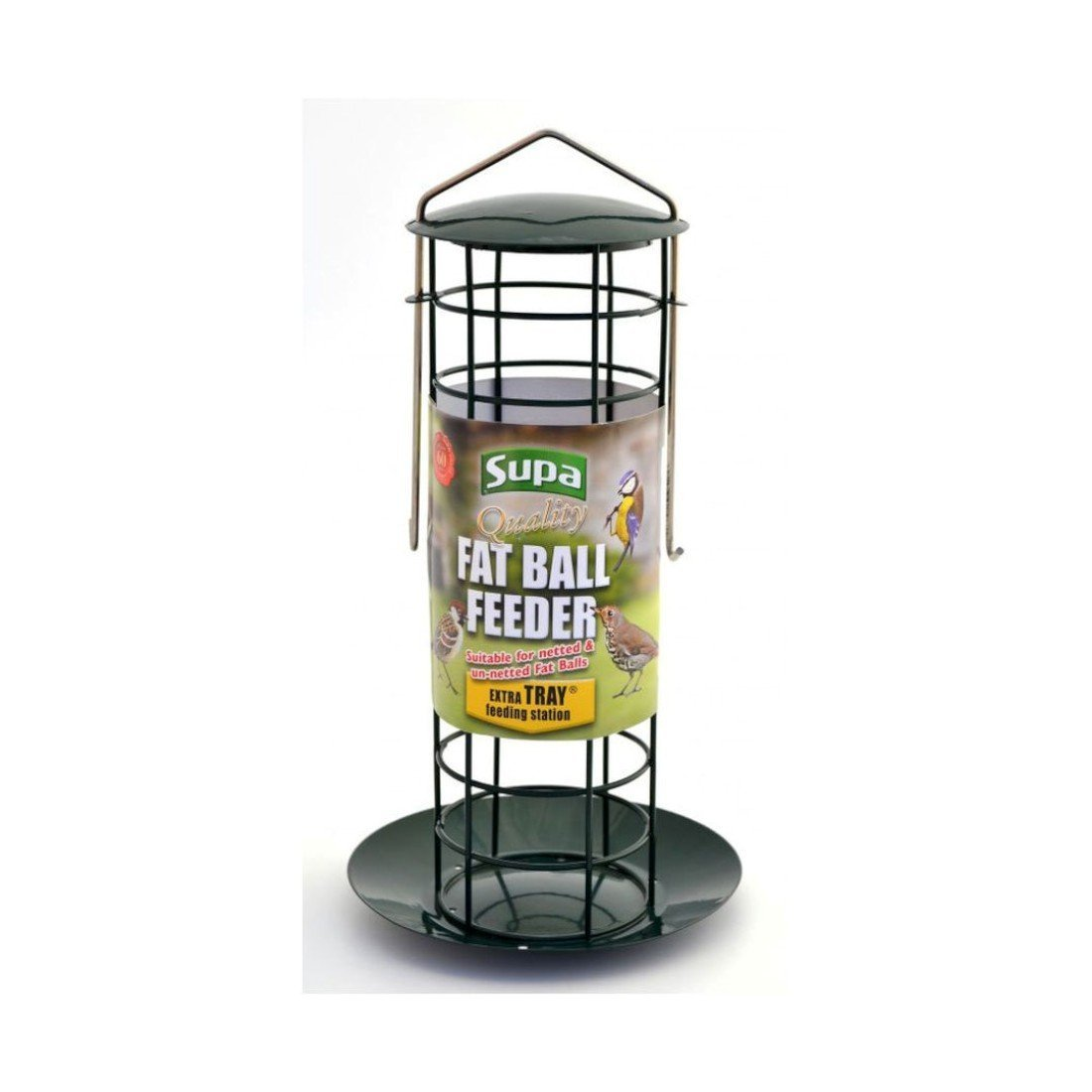 Supa Fat Ball Feeder & Tray sgl