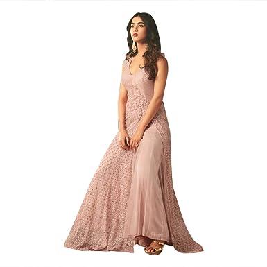 Indische Sitte, pakistanische Designer Georgette Anarkali Salwar ...