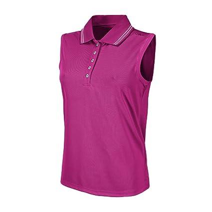 CMP Polo Camiseta Women - Fuxia: Amazon.es: Deportes y aire libre