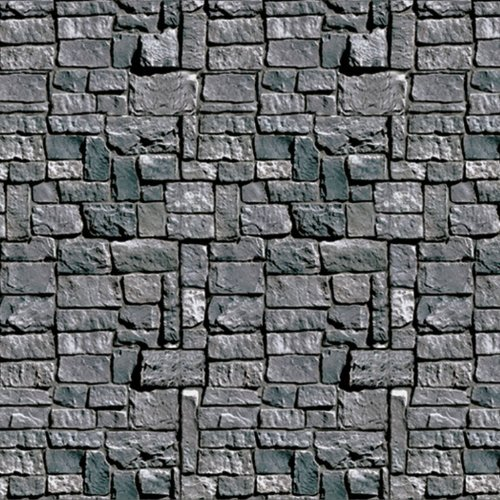 Stone Wall Backdrop 4ft. x 30ft. Pkg/6