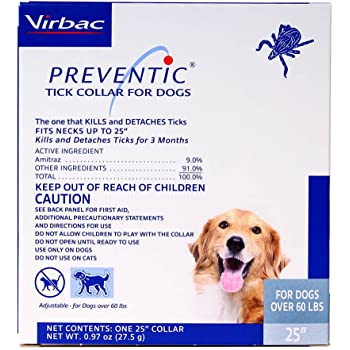 Amazon Bayer Seresto Flea And Tick Collar For Large Dog From