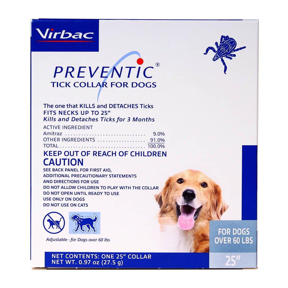 Virbac Preventic Collar - 25'' -1 Single Collar