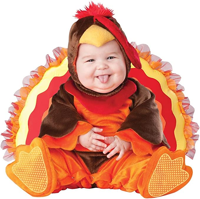 Amazon.com: Disfraz de pavo para bebés, de la marca ...