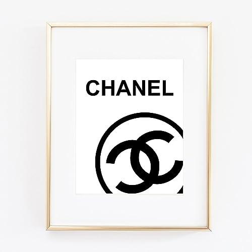 Amazon.com: Logo Poster, Print Wall Art Prada Marfa distance like ...