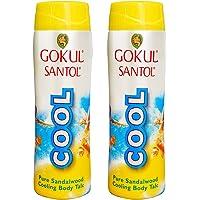 Gokul Santol Cool Skin Cooling Body Talc 150g (Pack of 2)