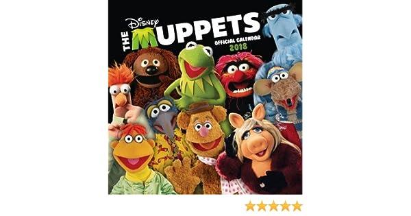 Umv Calendario.The Muppets Official 2018 Calendar Square Wall Format