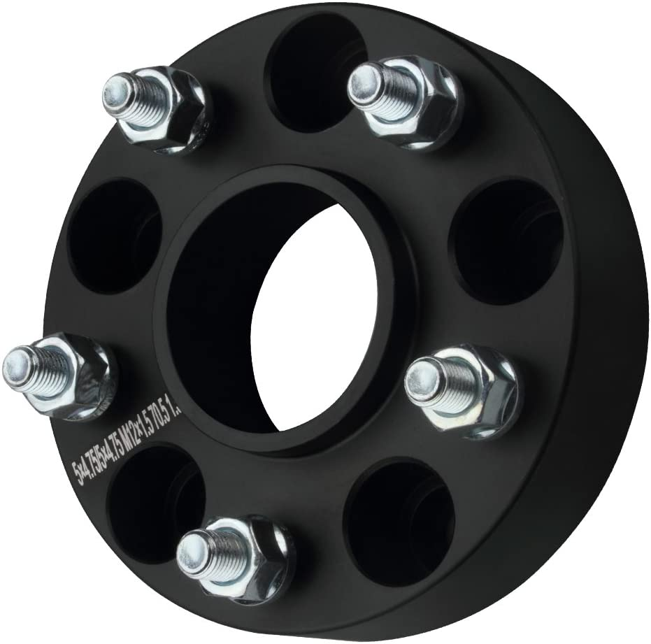 84-18 Chevy Corvette 95-02 GMC Jimmy 1.5 Wheel Spacers 5x4.75 with 12x1.5 Studs for 82-02 Chevy Camaro GDSMOTU 2pc Hubcentric Wheel Spacers for Chevy 5 Lug 82-04 Chevy S10 83-05 Chevy Blazer