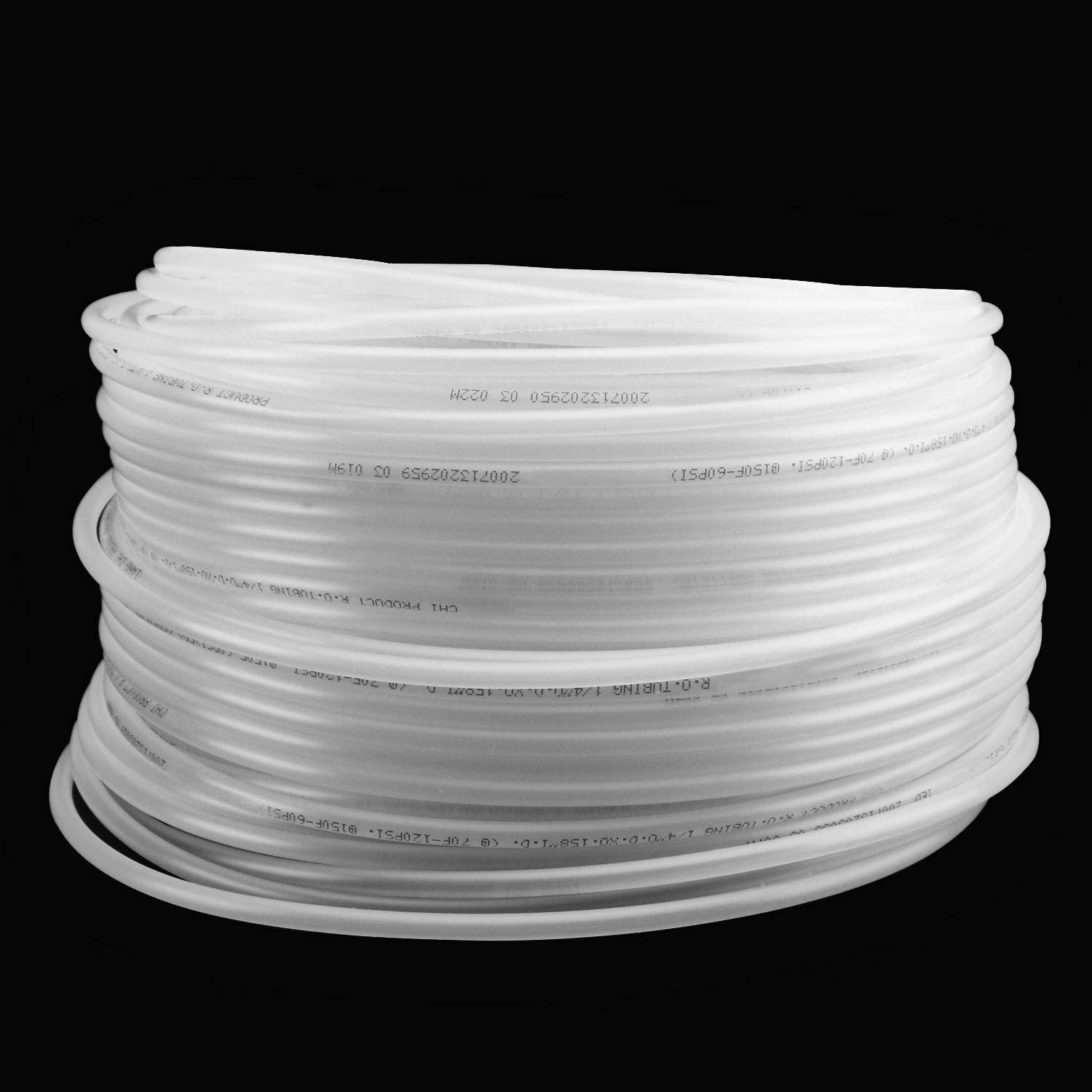 KEILEOHO RO Tubing 1/4 Inch Outside Diameter, 328 Feet Food Grade Pex Tubing, BPA Free, Translucent PE tubing for Reverse Osmosis Systems and Water Filters, Aquariums, Coffee Machine