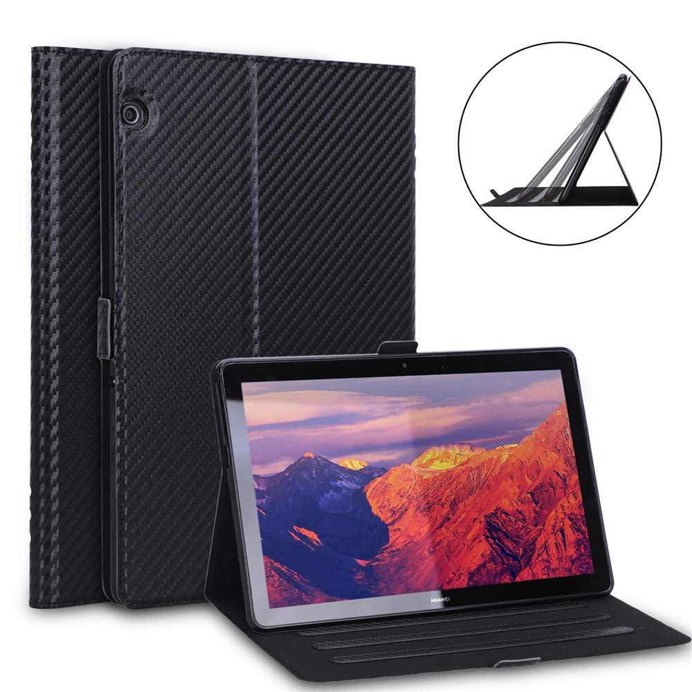 高質で安価 Huawei MediaPad T5 S242-FF-716 10.1インチ 2018プレミアムPUレザーフリップケース ブラック Casefirst MediaPad ブラック S242-FF-716 ブラック B07MNSQ677, ホンゴウソン:b3ff3208 --- senas.4x4.lt