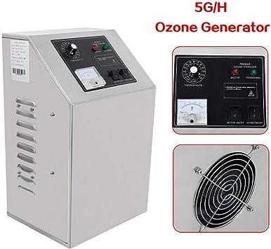 140W Generador de ozono profesional 5000mg / h 5g / h Generador de ...