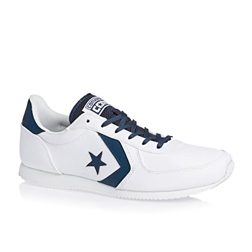 394a25affcd8 Converse - Arizona Racer - 147426C - Color  White - Size  11.5   Amazon.co.uk  Shoes   Bags
