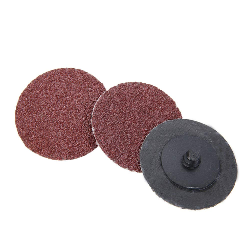 25PCS 2 INCH Roloc Discs Roll Lock Surface Conditioning Sanding Disc R-Type Discs for Roloc Rotary Tool Sanding and Surface Blending 240 Grits SENRISE Roloc Quick Change Discs