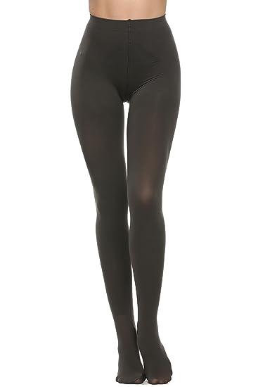 Avidlove Womens Tights with Control Top Velvet Pantyhose 400 Denier Dark  Gray Small c4a40f534