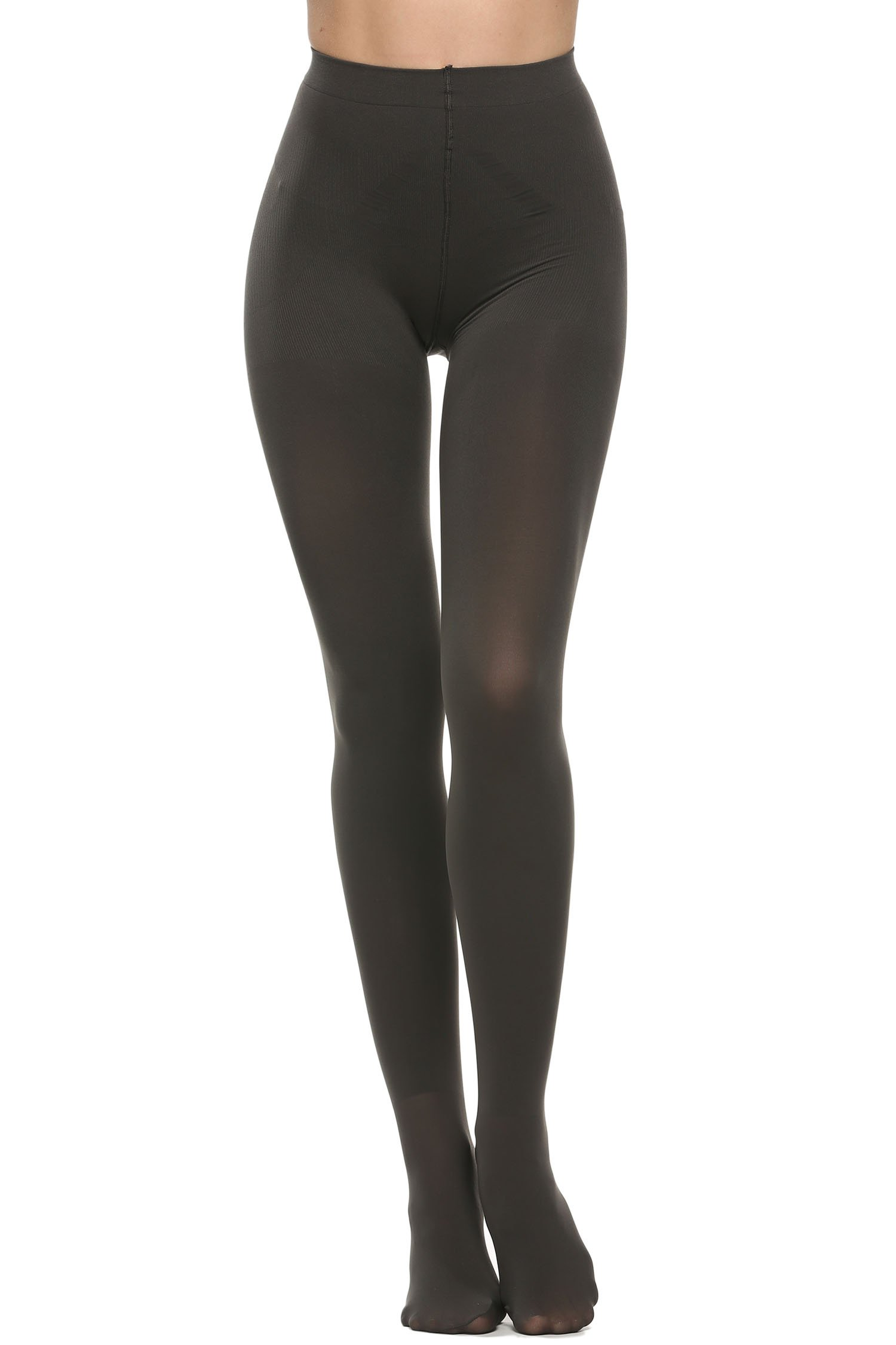Avidlove Womens Socks Hosiery Control Top Tights Velvet Pantyhose 400 Denier (S, Dark Gray)