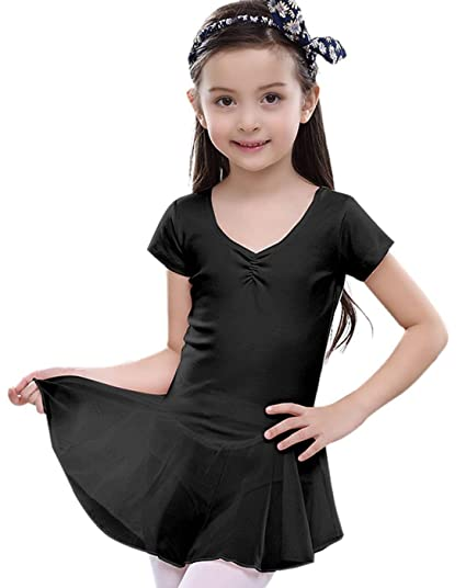 936e30a3f7ae Amazon.com   FEOYA Girls Ballet Dress Gymnastics Skirted Leotard ...