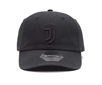 Fi Collection Juventus Officially Licensed Adjustable Black Out ... a8e5055bdf9