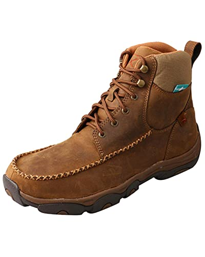 fe5502ca5c3 Amazon.com   Twisted X Men's Distressed Saddle Work Boot Composite ...