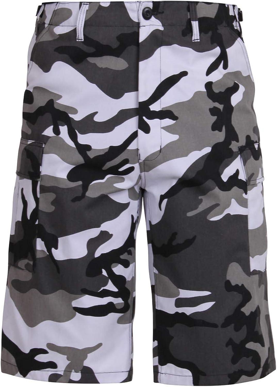 Rothco Long Length Camo BDU Shorts