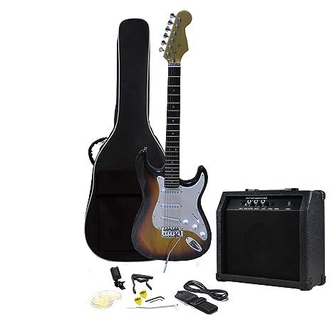 RockJam RJEG01-SK-BK - Kit para guitarra eléctrica SB: Amazon.es ...