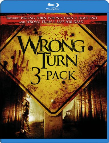 Blu-ray : Wrong Turn DVD 3 Pack (, Dubbed, Dolby, AC-3, Digital Theater System)