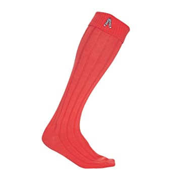 Royal & Awesome Golf Calcetines, Hombre, Rojo, Talla única