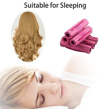 Amazon.com: Esponja de Espuma de rizador de pelo, rizadores ...