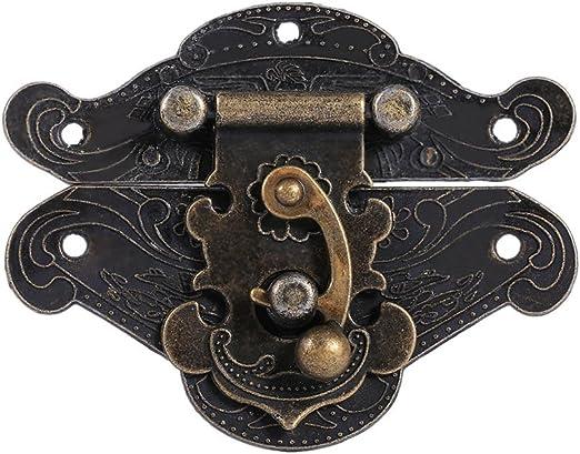 Antique Bronze Meubles Armoire Charnières de Porte Boîte en bois Valise Armoire Charnière