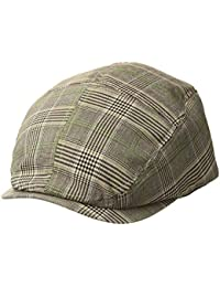 Men's Plaid Ivy Newsboy Cap Hat