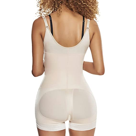 9bada4e53 TrueShapers 1250 Slimming Braless Body Shaper Girdle in Boyshort at Amazon  Women s Clothing store