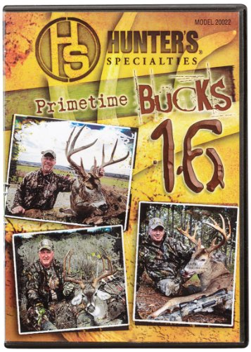 (Hunters Specialties Inc. Primetime Bucks 16 DVD)